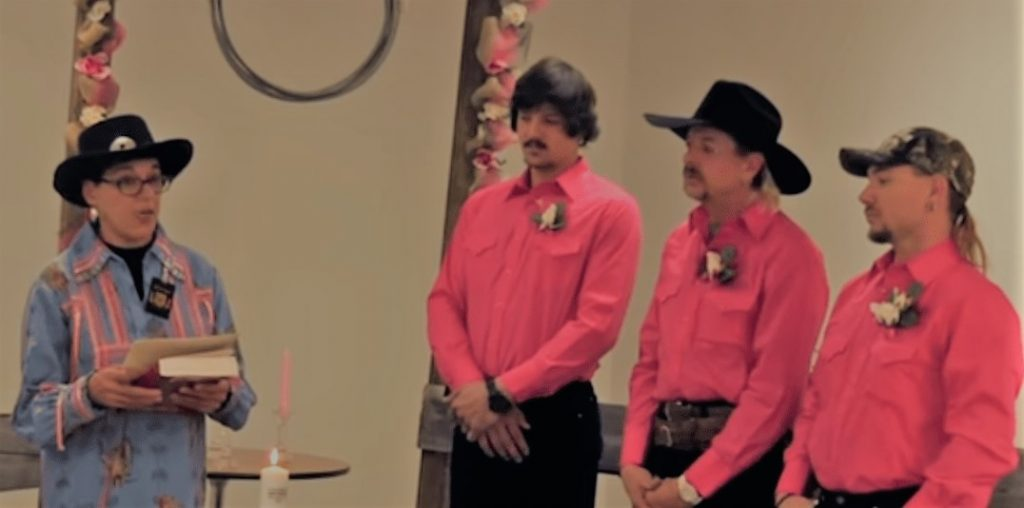 Joe Exotic Wedding to Husbands