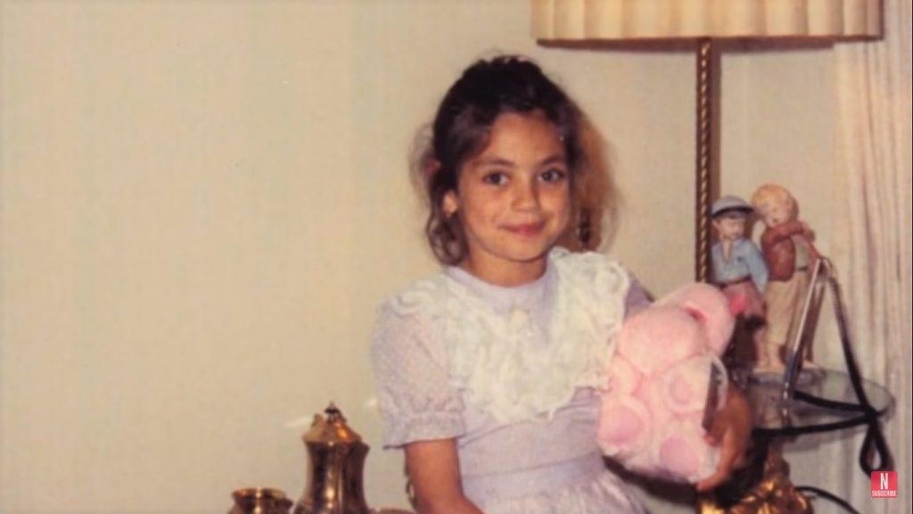 Mila Kunis as a child