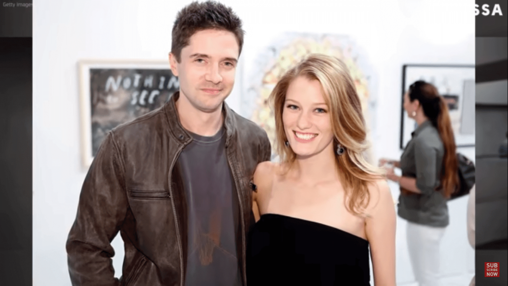Topher Grace Wife