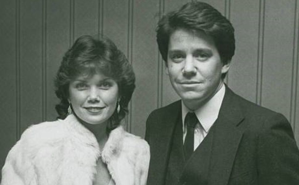 Anson Williams With His Happy Days co-star And First Wife, Lorrie Mahaffey