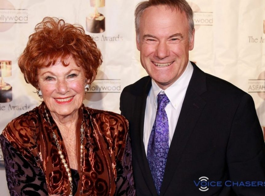 Marion Ross With Her Son, Actor Jim Meskimen