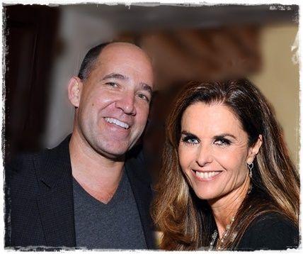 Matthew Dowd with girlfriend, Maria Shriver