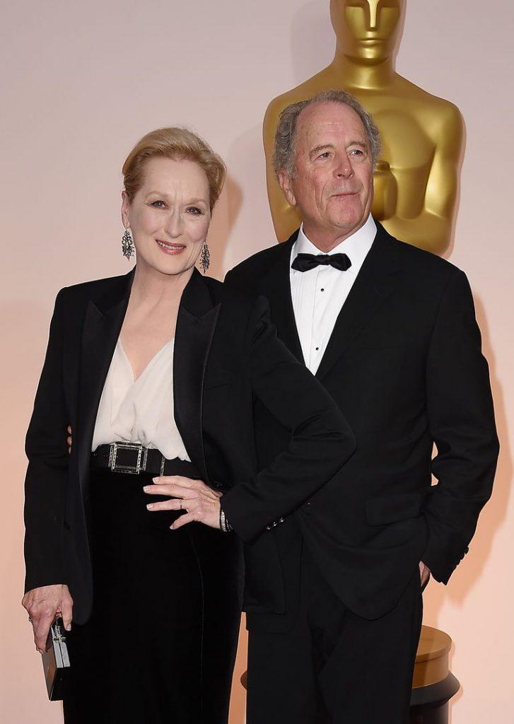 Meryl Streep with husband, Don Gummer
