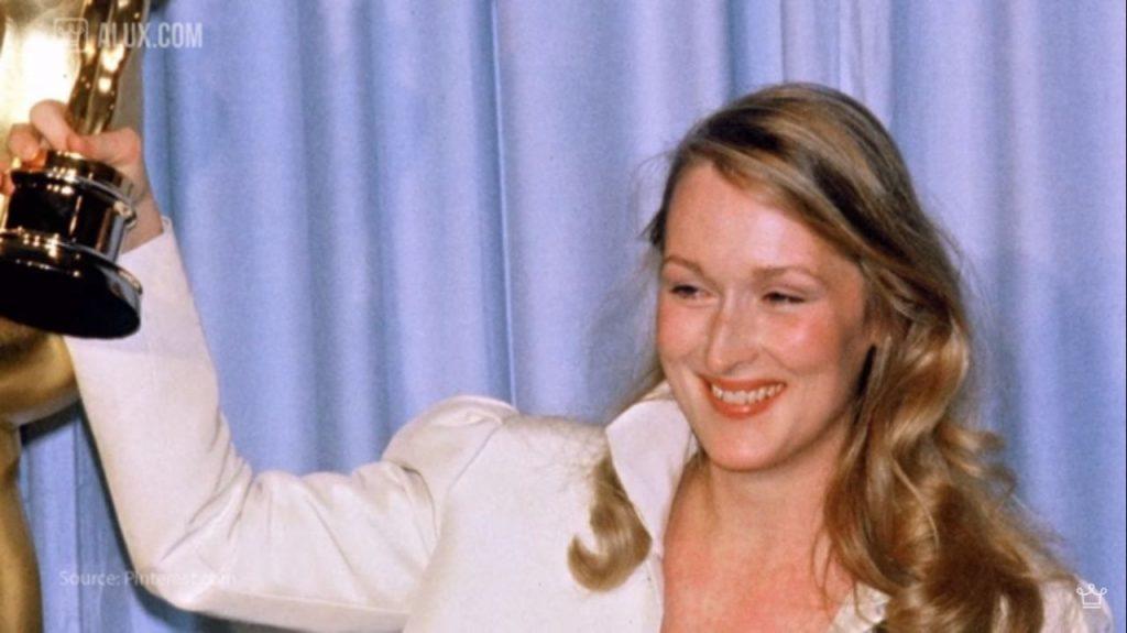 Meryl Streep, multiple award winning actress