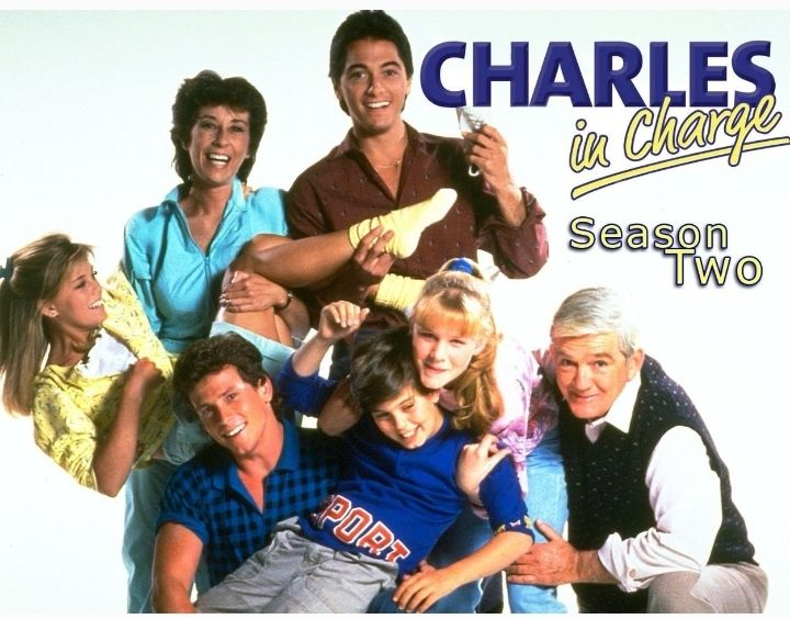 Baio with Charles in Charge cast members