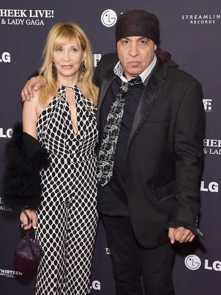 Steven Zandt with wife, Maureen