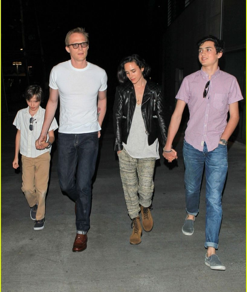 Connelly with hubby and two of her children