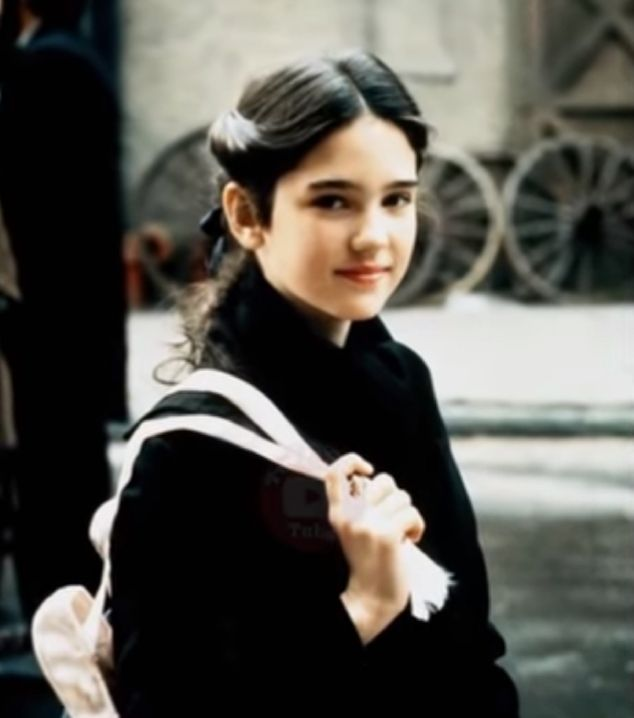 Jennifer Connelly as a child