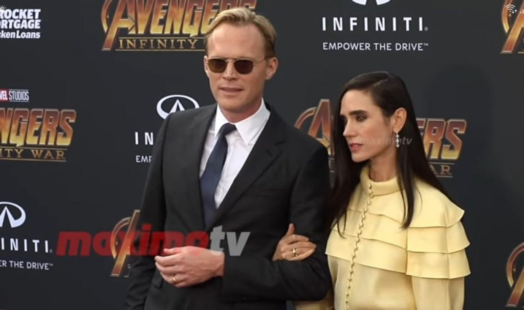 Paul Bettany with wife, Jennifer Connelly