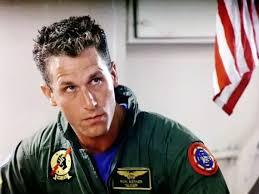 Val Kilmer as Lt. Tom 'Iceman' Kazansky in Top Gun(1986)