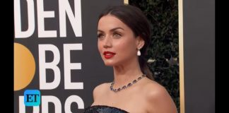 De Armas at the Golden Globe Award