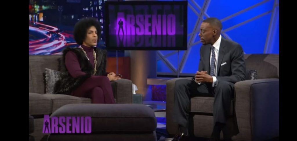 Arsenio Hall at one of his shows