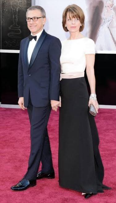 Christoph Waltz with wife, Judith Holste