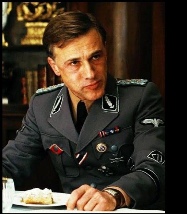"""Christoph Waltz as 'Hans Landa' in """"Inglourious Basterds"""""""