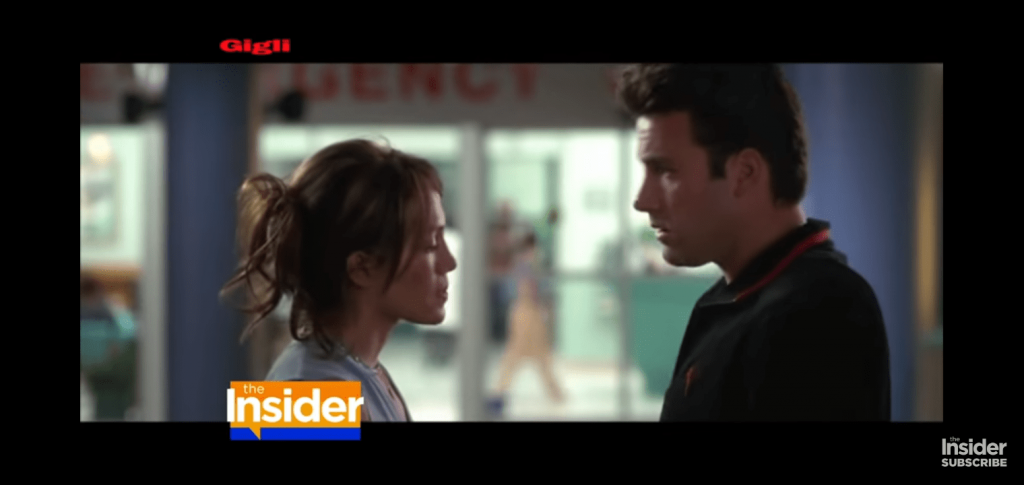 Ben and J.Lo in Gigli