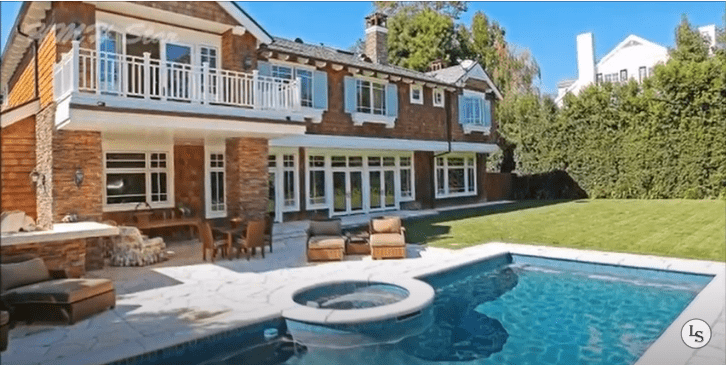 Bale's Brentwood Mansion